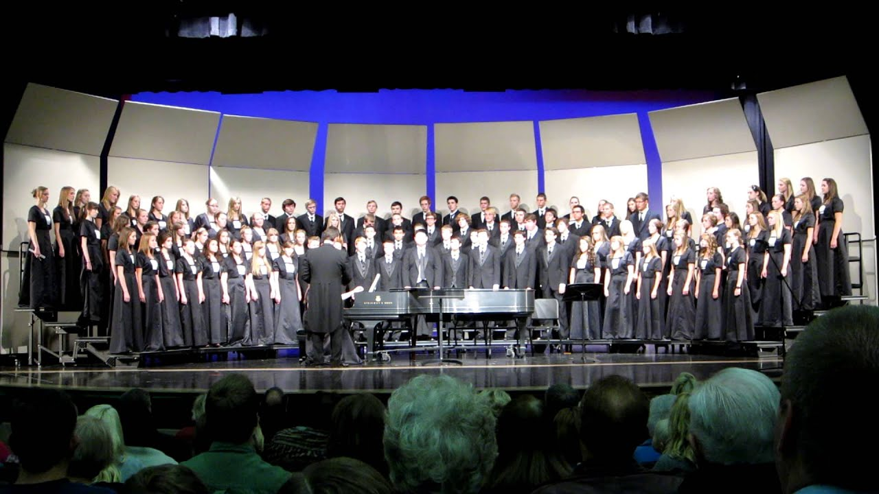 You Ll Never Walk Alone Ohs A Cappella Choir Youtube