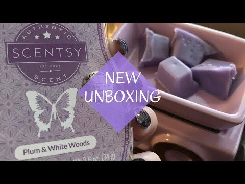 New Plum Amp White Woods Scentsy Scent And Once In A