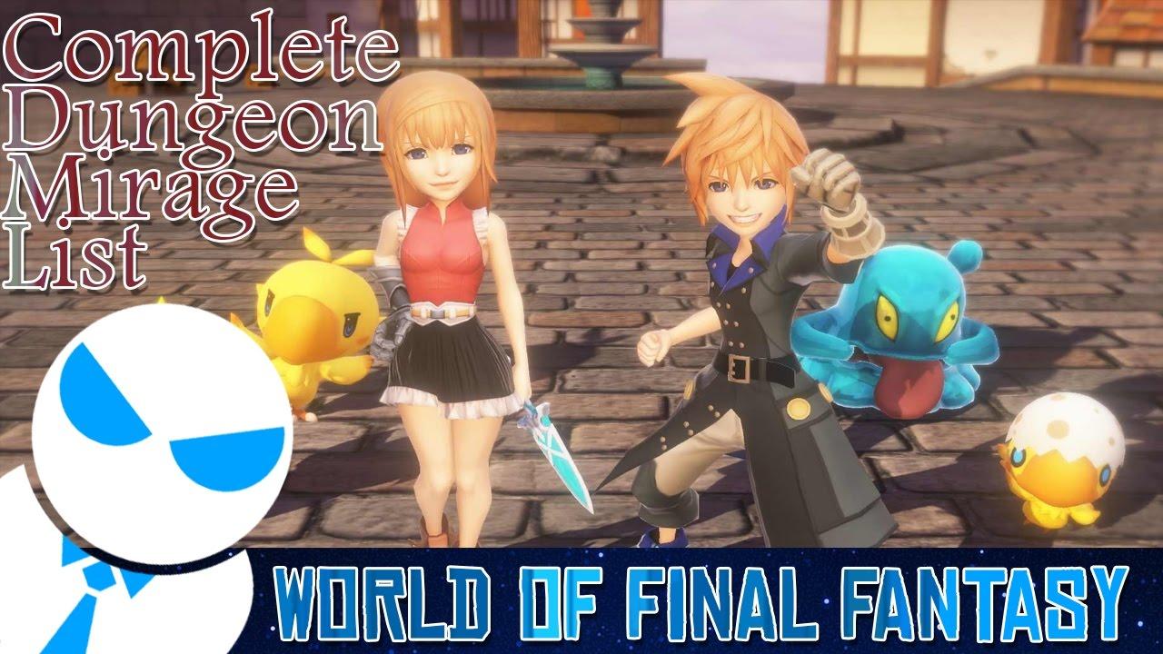 Cartoon Final Fantasy: A List of All Parts 57