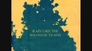 rain like the sound of trains - waiting for the water 7""
