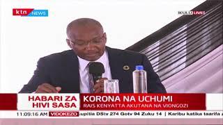 CBK governor Patrick Njoroge announces economic measures to help Kenyans during covid-19 pandemic