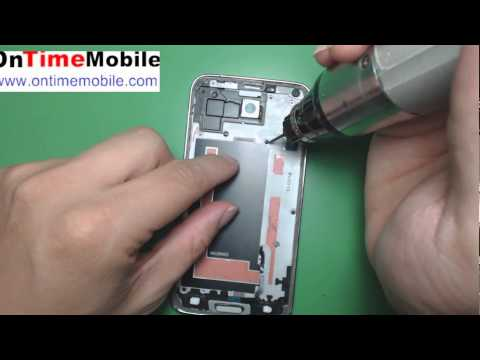 How to open or repair samsung Galaxy S5 (G900A,G900T,G900V,G900P)