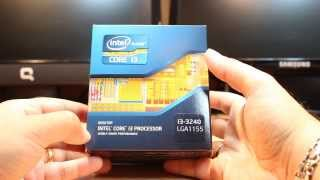 intel core i3 processor 3240 Ivy Bridge1155 unbox and review