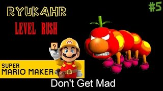 Don't Get Mad | Super Mario Maker | Level Reaction Ep. 5