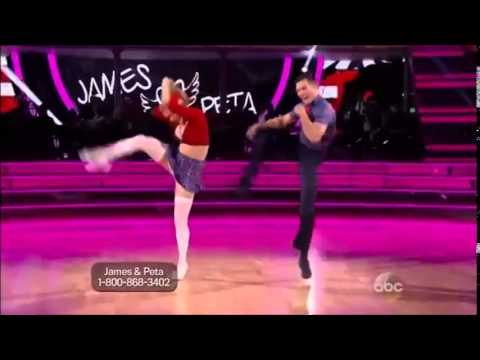 """DWTS 18 WEEK 8 : James Maslow & Peta AND Derek Hough & Amy - Jive - (May 5th) """"5-5-14"""" from YouTube · Duration:  1 minutes 48 seconds"""