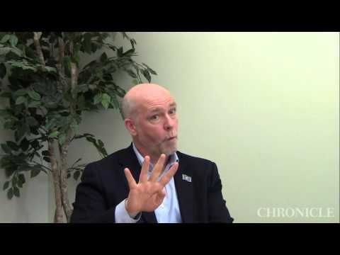 Greg Gianforte at the Bozeman Daily Chronicle