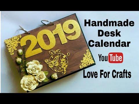 How To Make Desk Calendar | Handmade Photo Desk Calendar