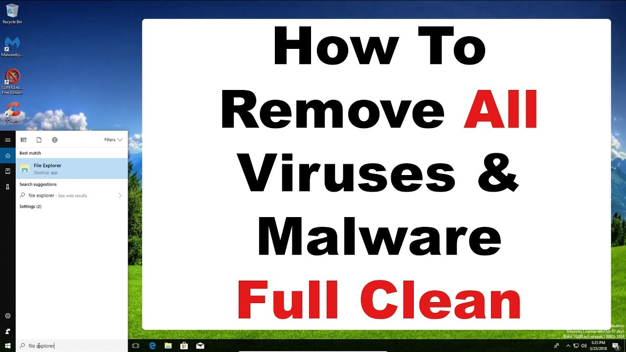 clean my computer from viruses for free