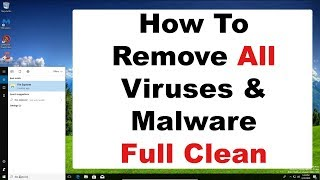 How to remove computer virus, malware, spyware, full computer clean and maintenance 2018