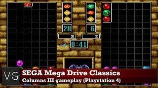 SEGA Mega Drive Classics (PS4) - Columns III gameplay. No commentary.