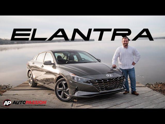 Hyundai Elantra 2021 -  Tout Ce Que Vous Devez Savoir !