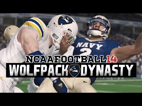 NCAA Football 14 - Illinois Tech Dynasty Ep. 6 - Week 5 at Navy [Season 1]