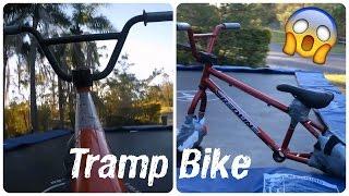 How to make a tramp bike + Tricks 2016