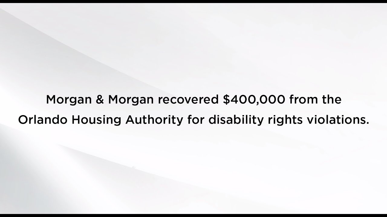 The Fight for Reasonable Accommodation | Attorney Belvin Perry, Jr  |  Morgan & Morgan