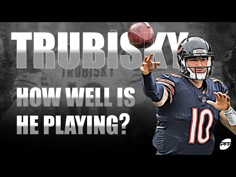 How Well is Mitch Trubisky Playing? | PFF