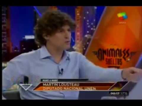 Martín Lousteau con Alejandro Fantino (Animales sueltos)