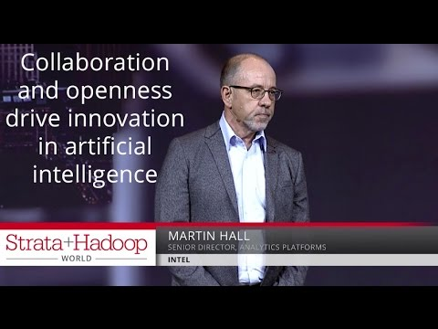 Collaboration and openness drive innovation in artificial intelligence - Martin Hall (Intel)