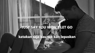 SAY YOU WON'T LET GO by JAMES ARTHUR LYRIC (ENG-IND) Lirik Indonesia