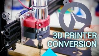 CNC mill built from a 3D Printer!(Want a CNC mill, but only have a 3D printer? Well, if it's sufficiently overbuilt you can convert it for less than $100! ER11 Spindles (and sets) Amazon ..., 2017-01-12T00:20:08.000Z)