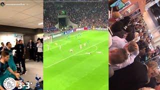 Ajax Fans Heartbreaking Reactions To Last Minute Goal Ajax Vs Tottenham 3-3 UCL 2019