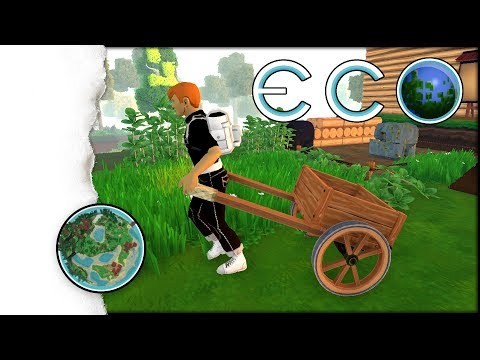 ECO Survival | Wooden Cart für den Anfang | 005  (Wooden Cart bauen)