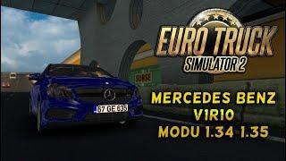 ETS 2 Mercedes Benz V1R10 Modu [1.34] [1.35]