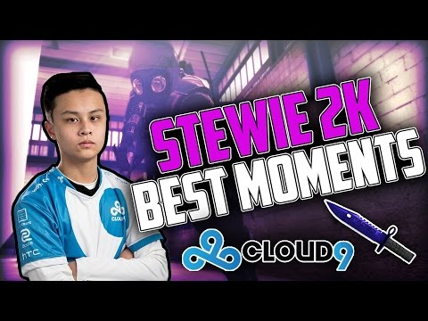 CS-GO Best Of STEWIE 2K CLOUD 9 (insane kills, shots, and vision )