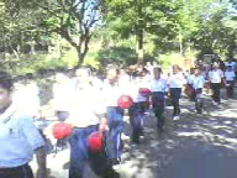 Escuela Cuauhtemoc-Llanos de Santiago -Desfile del...