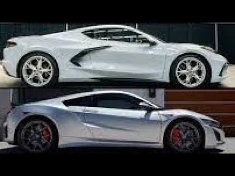 C8 Corvette vs. 2019 Acura NSX