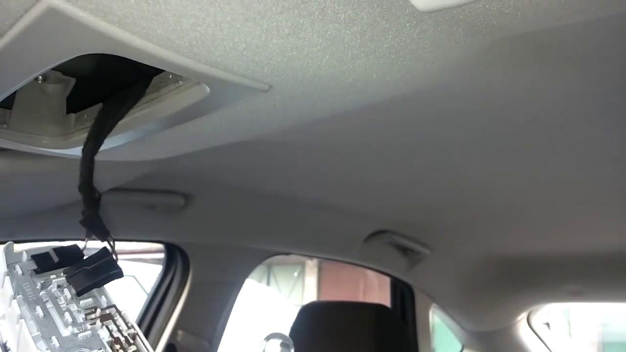 Ford Focus Mk2 Fl Wymiana żarówki Podświetlania Kabiny