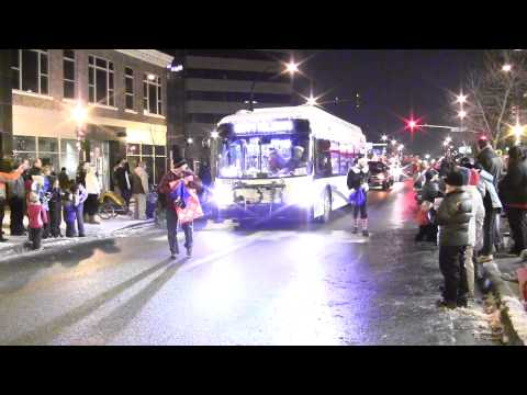 The 2012 St. Cloud Downtown Council - Winter Nights & Lights Parade
