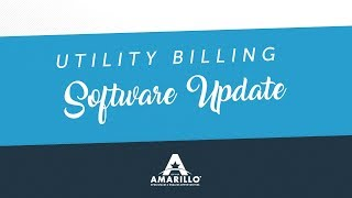 Utility billing main points