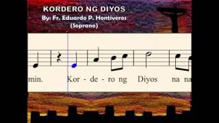 I08a Kordero ng Diyos - by E. Hontiveros (Soprano)