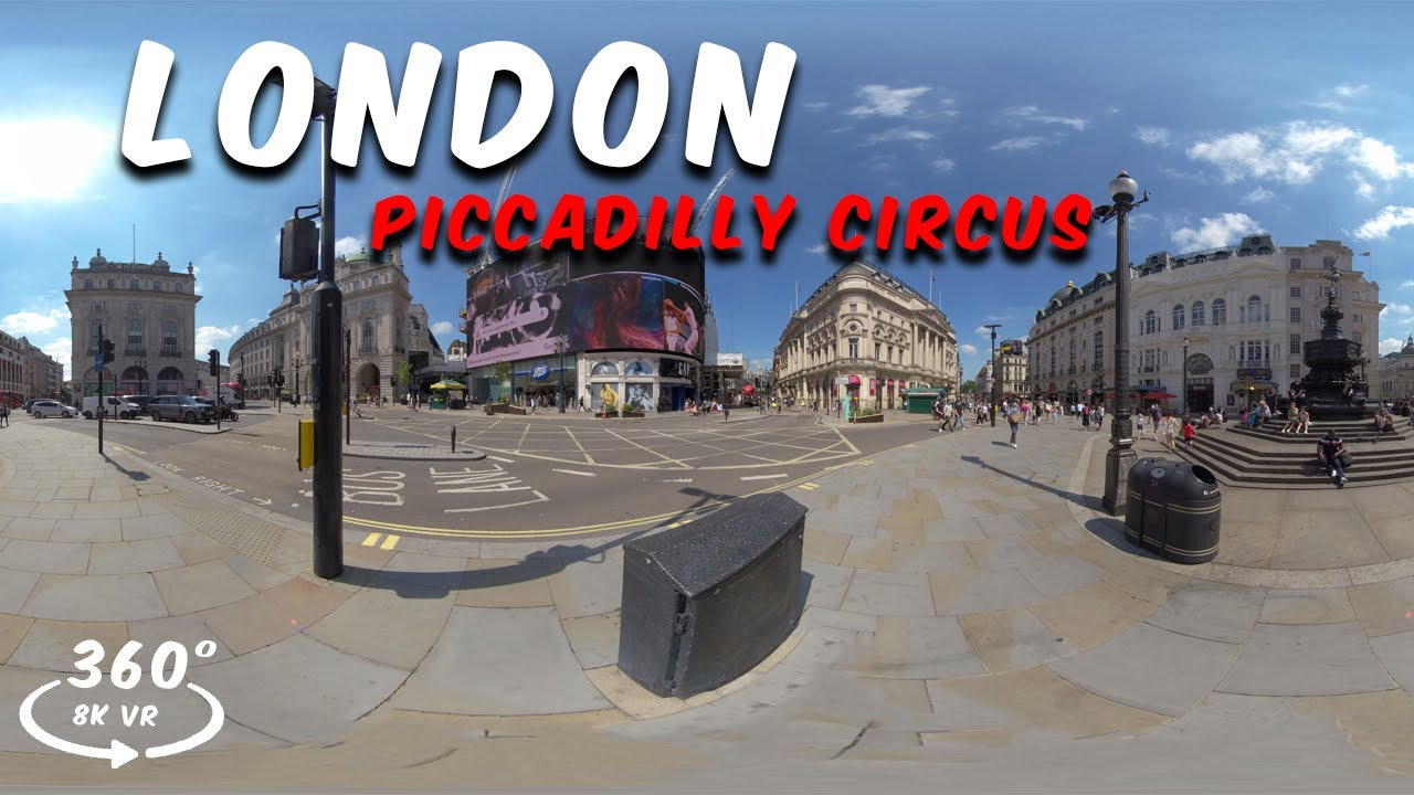 360° Piccadilly Circus Virtual Reality Experience - London, UK