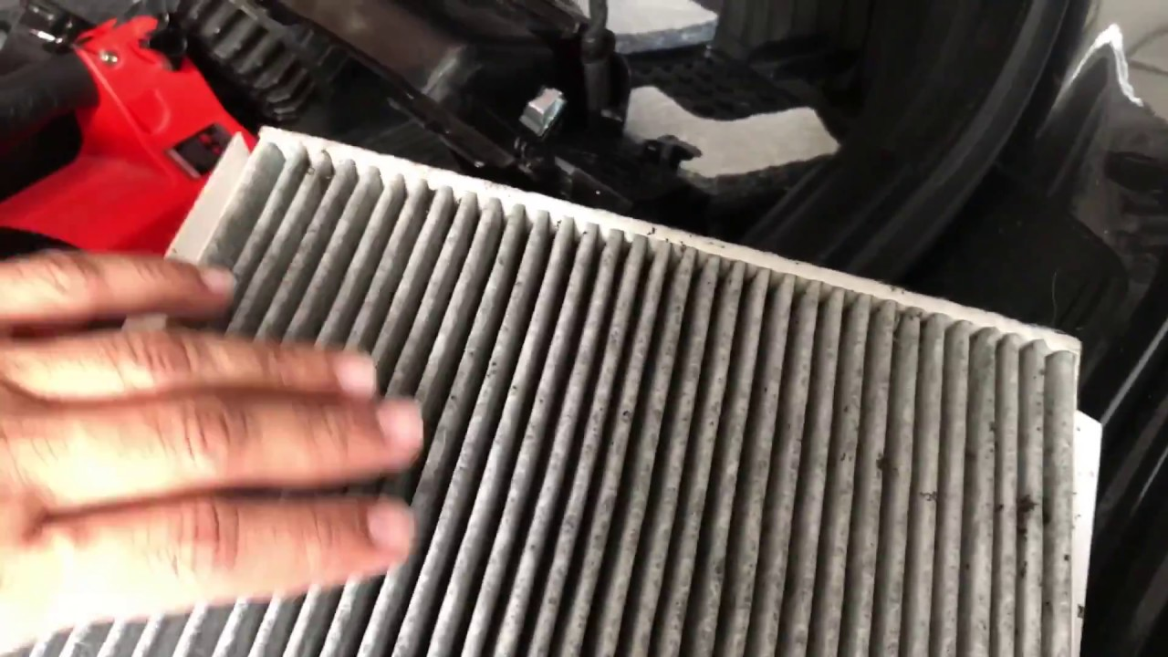 Bmw 535i f10 cabin filter replacement