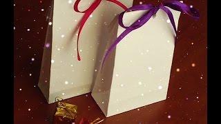 Как сделать пакет из бумаги своими руками. Рaper bag(, 2014-12-21T18:52:57.000Z)