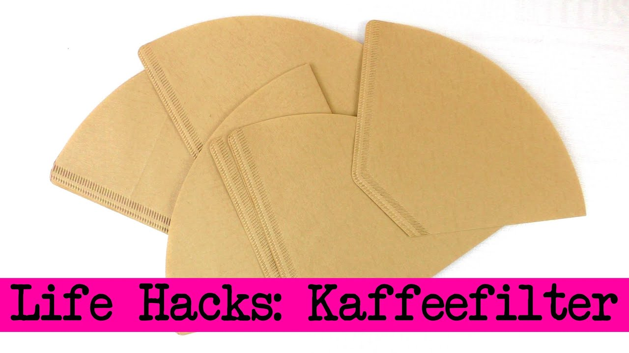 life hacks top 4 kaffee filter aufbewahrung. Black Bedroom Furniture Sets. Home Design Ideas