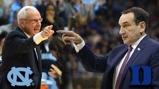 UNC vs. Duke: No. 1 Duke Hosts No. 8 North Carolina