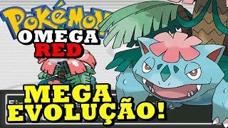 Pokémon Omega Red (Detonado Hack Rom - Parte 13) - Primeira Mega Evolução!