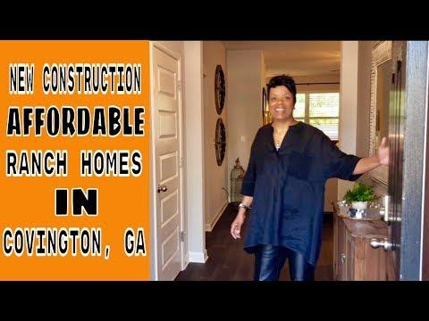 New Construction Ranch Homes In Covington, GA