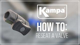 Kampa | How To Reseat A Valve