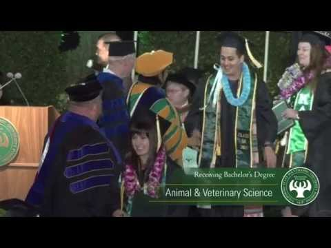 Cal Poly Pomona Commencement 2015 - College of Agriculture