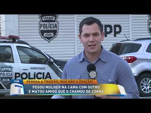 Pegou mulher na cama com outro e matou amigo que o chamou de corno - Tribuna da Massa (02/08/19)