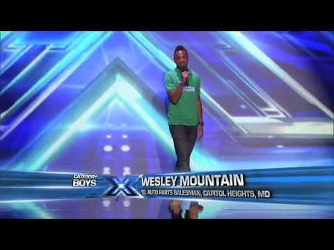 Wesley Mountain - Wanted (The X-Factor USA 2013) [Audition]