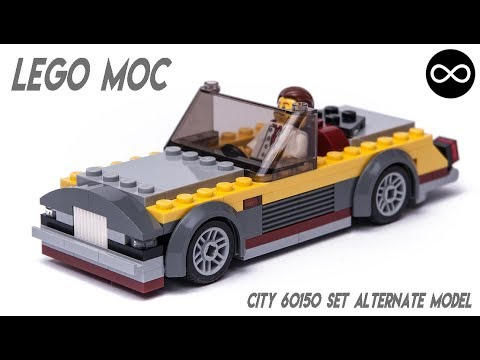 LEGO CITY set 60150 alternative MOC model