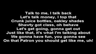 SoMo~Buy you a drank (lyrics)