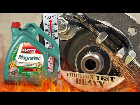 Castrol Magnatec C3 5W40 How well the engine oil protect the engine? 100°C