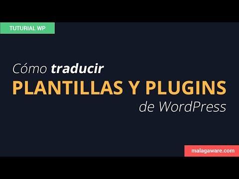 Cómo traducir una plantilla de wordpress