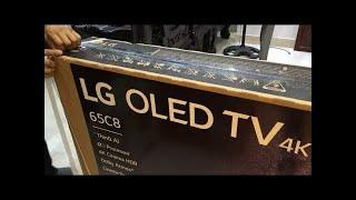 Mở hộp  tivi mỏng nhất thế giới LG Oled 65C8PTA Smart 4K