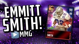99 EMMITT SMITH! Madden Mobile Gameplay/Review